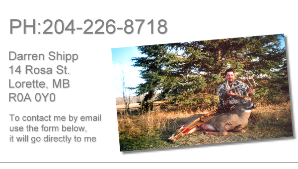 Looking for a Taxidermist near Winnipeg Manitoba